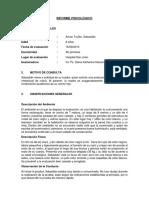 INFORME PSICOLÓGICO 09