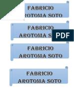 Fabricio