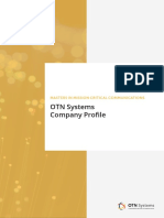 B036 7 OTN Systems Company Profile E