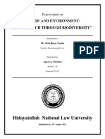 Environmental Law Project 4th Sem
