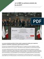 El Heraldo de Saltillo – FOVISSSTE coloca en la BMV su primera emisión de certificados bursátiles de 2017.pdf