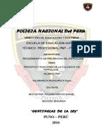 Monografias de Patrullaje ROLDAN SANTOS DANIEL