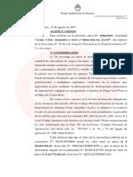 """""""Ayala,  César  Alejandro  y  otros  s/  infracción  ley  22.415"""""""
