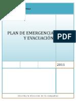Modelo de Plan de Emergencia y Evacuacion