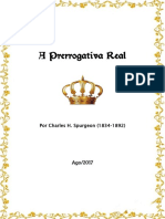 A Prerrogativa Real, Por C. H. Spurgeon