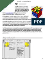 OLL Algorithms - CFOP SpeedSolving OLL #57 Cases