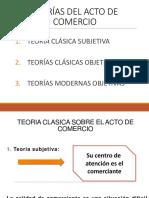 1 Teoría Clásica Sobre El Acto de Comercio