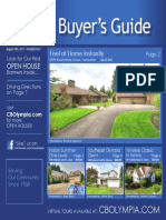 Coldwell Banker Olympia Real Estate Buyers Guide (August 19th 2017)