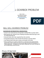 Ball Mill Gearbox Case History - BCEASE 2016