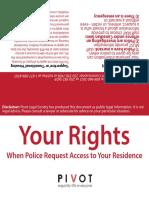 Tenants' Rights Card
