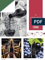 Catalogo Vinos Premium CRIO