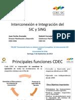 Juan Carlos Araneda y Gabriel Carvajal Interconexion Sic Sing