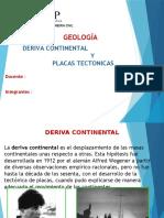 Placas y Deriva Continental