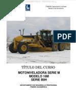 Manual Motoniveladora 16m b9h Caterpillar Cabina Motor Tren Fuerza Implementos Sistema Direccion Frenos Ventilador