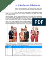 1. Wujud Budaya Setiap Provinsi Di Indonesia jd.docx