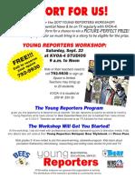 Yr Workshop Flyer 2017 Cat Foot