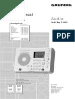 Grundig Yacht Boy P 2000 Service Manual