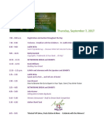 AuthorU Extravaganza September 2017 Final Agenda