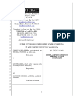 First Amended Special Action Complaint (Circulator Issues)