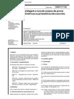 NBR 05738 - 1994 - Modelagem e Cura de Corpos de Prova Cilíndricos.pdf