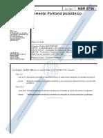 NBR 05736 - 1991 - Cimento Portland Pozolânico.pdf