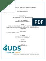Trabajo de Investigacion Enf. Edilia Sanchez Olan
