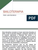 Bailoterapia