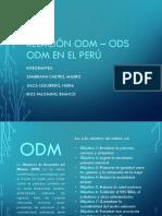 Comparación ODM y ODS