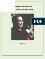 Mergers & Acquisitions New Norms for New India?