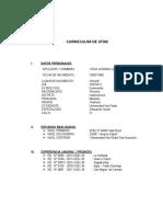 Curriculum Vitae Lindaura