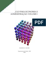 Apostila Economia - Cálculo I