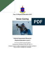 as 3 7 snow caving 2017