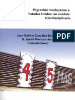 Migración Mexiquenses a Estados Unidos