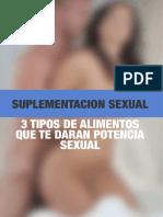 Suplementación Sexual - Stefano Z