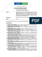 Informe de Respuesta de La Carretera Capachica LLachon