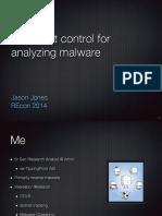 pinpoint_control_for_analyzing_malware_recon2014_jjones.pdf