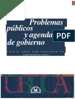 Problemas Públicos y Agenda de Gobierno2