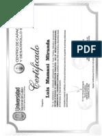 Certif SIAF Dllo Global UNC