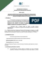 Edital 2017 Processo Seletivo Aprovado DPG Final
