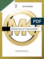 Puede Michael Kors Ser Accesible Sin Perder El Glamour