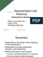 Semantics Intro