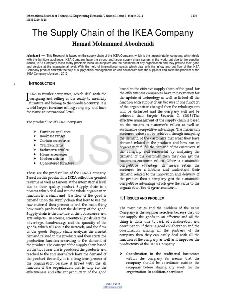 ikea business analysis