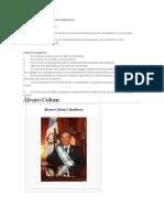 Presidente Alvaro colom