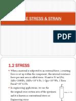 Lecture 2-Stress & Strain
