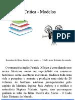 Resenha Crítica - Modelos - 2017
