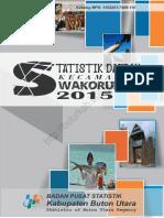 Statistik Kecamatan Wakorumba 2015