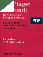 De Piaget a Freud (Leandro de Lajonquiere).pdf