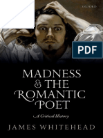 Madness and the Romantic Poet a Critical History