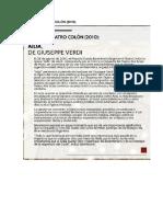 Archivo Teatro Colón -Aida