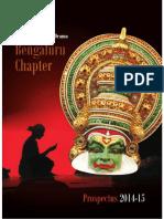 NSD Prospectus Bengaluru Chapter